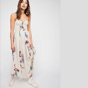 FREE PEOPLE Beau Printed Maxi Dress NWT